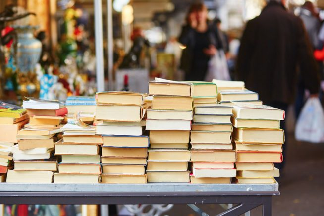 Books on a market
