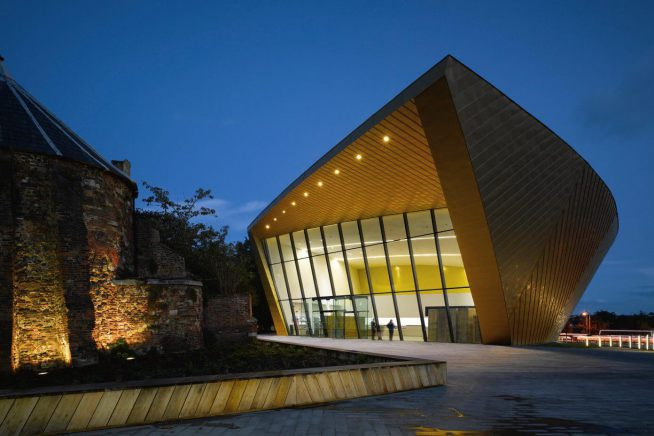 An image of Firstsite art gallery in Colchester
