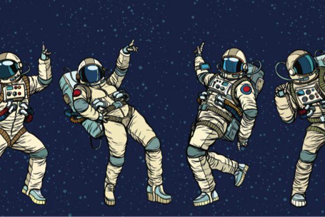 Dancing astronauts