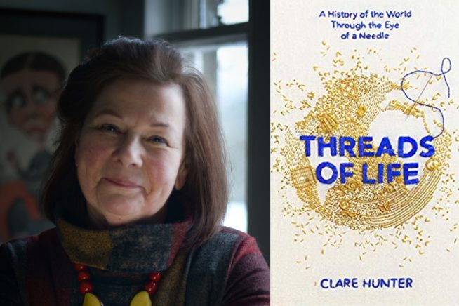 Clare Hunter and Threads of Life cover