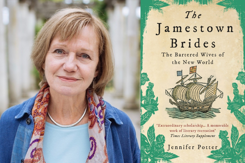 Jennifer Potter and cover