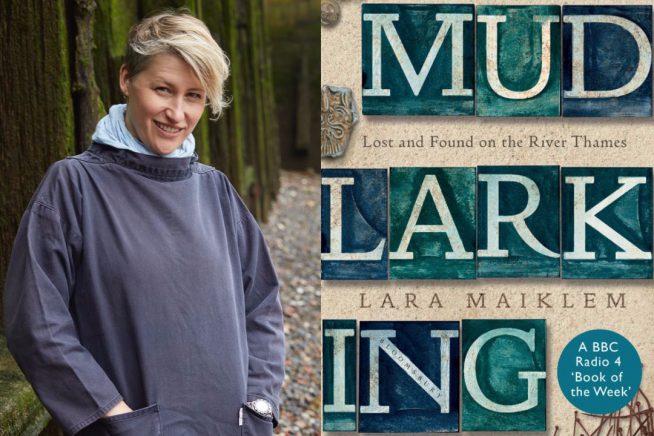 Lara Maiklem and cover