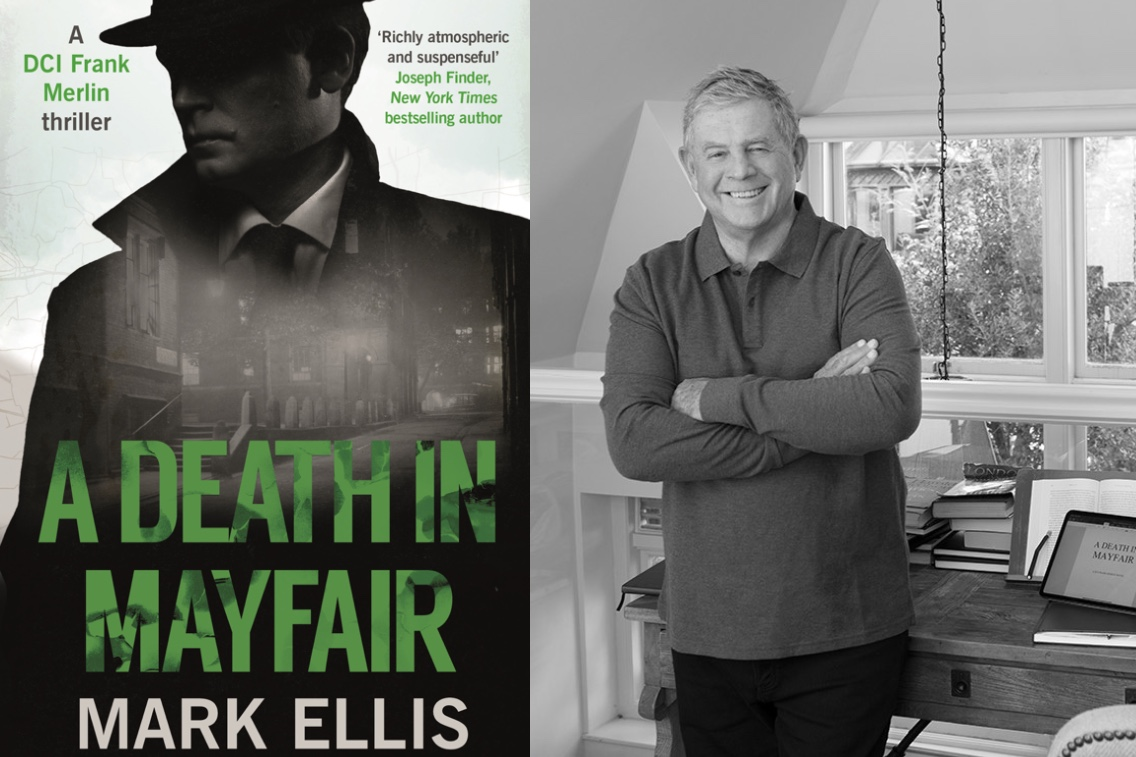 Mark Ellis and A Death in Mayfair cover
